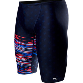 TYR Victorious Bañadores Hombre, red/white/blue